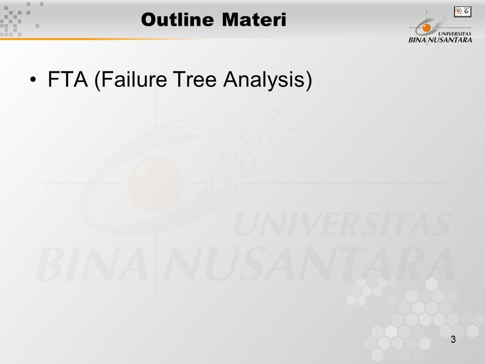 FTA (Failure Tree Analysis)