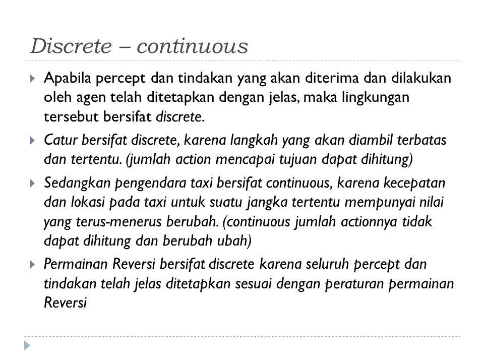 Discrete – continuous