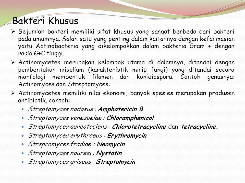 Bakteri Khusus