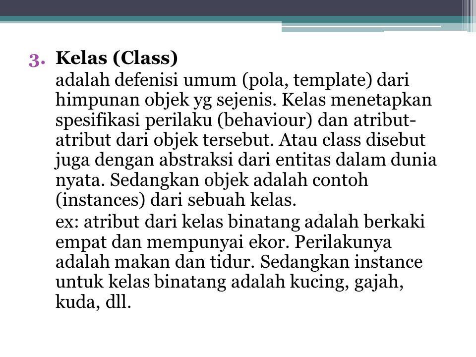 Kelas (Class)