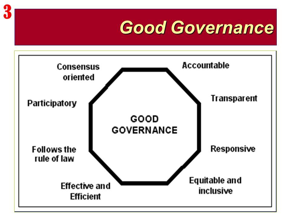 3 Good Governance