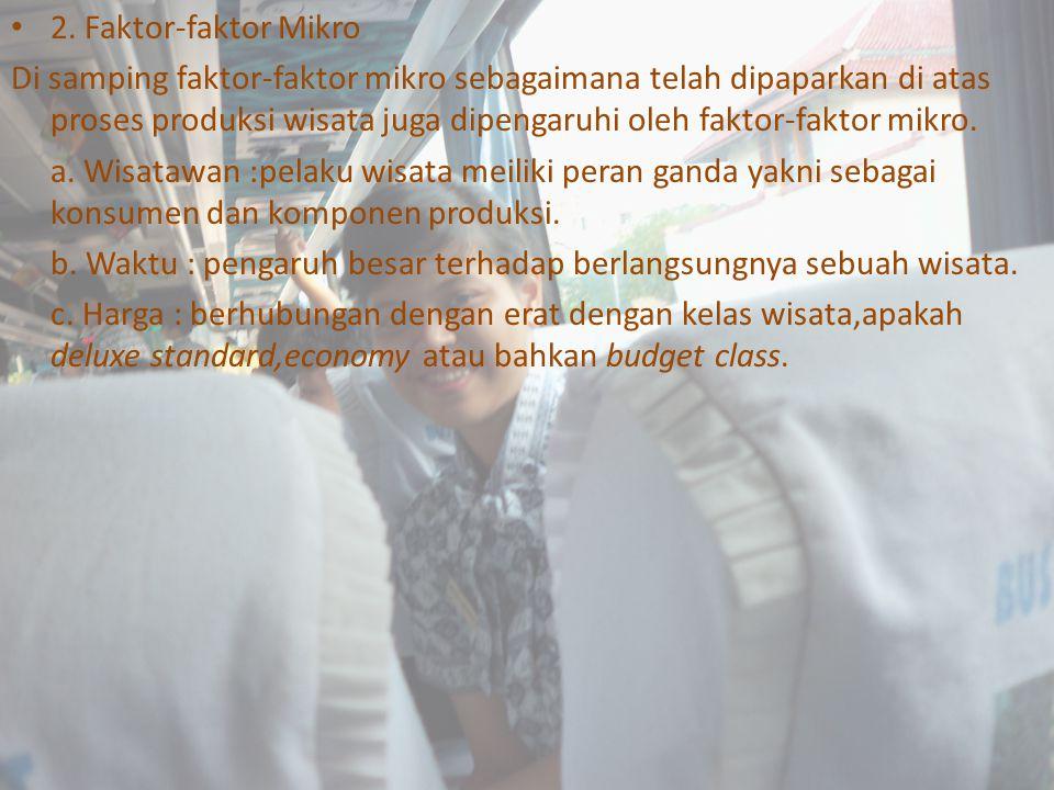 2. Faktor-faktor Mikro