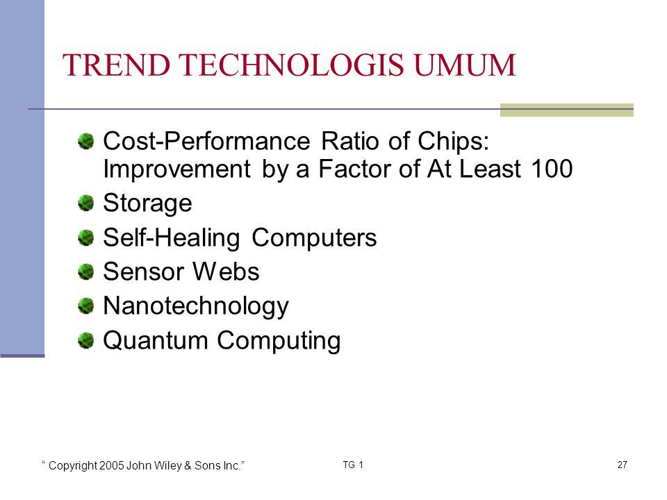 TREND TECHNOLOGIS UMUM