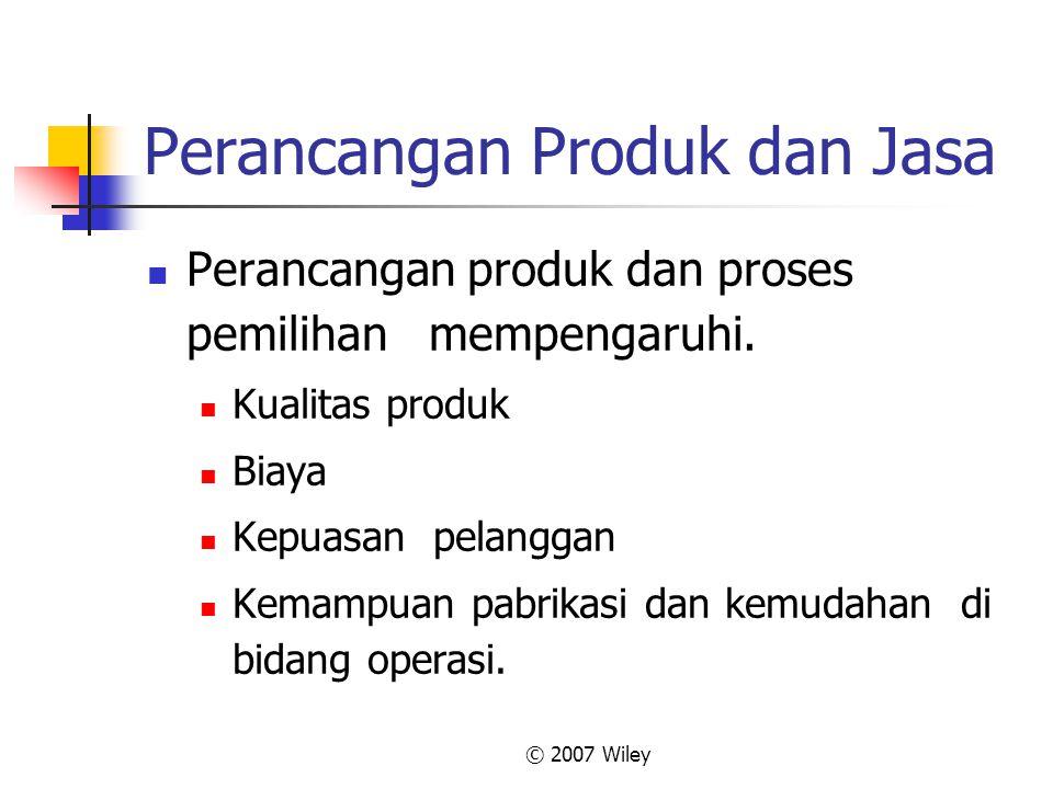 Perancangan Produk dan Jasa