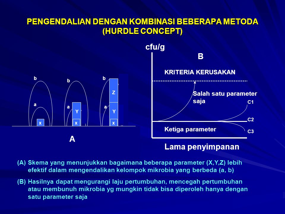 PENGENDALIAN DENGAN KOMBINASI BEBERAPA METODA (HURDLE CONCEPT)