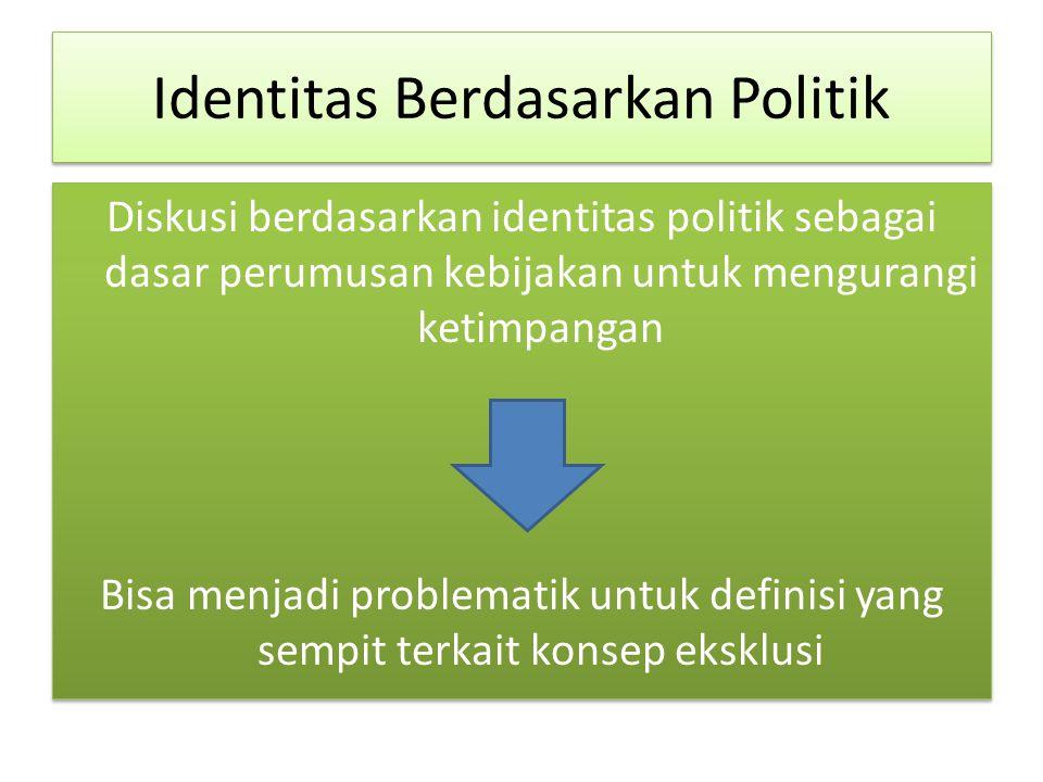 Identitas Berdasarkan Politik