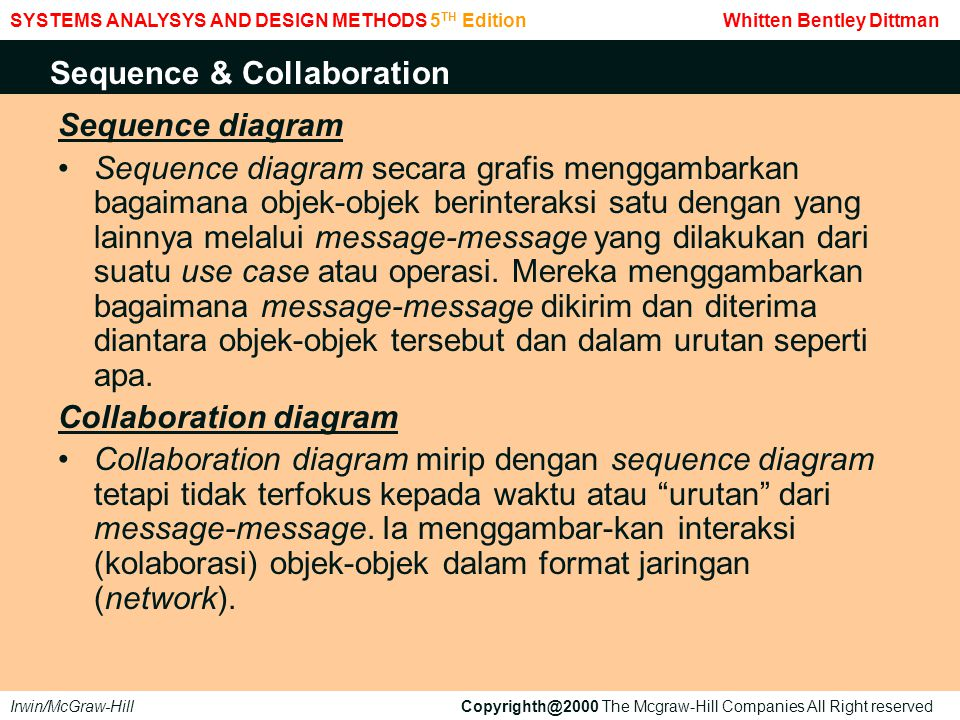 Sequence & Collaboration
