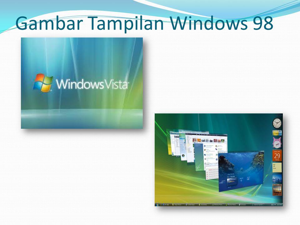 Gambar Tampilan Windows 98