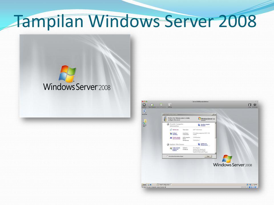 Tampilan Windows Server 2008