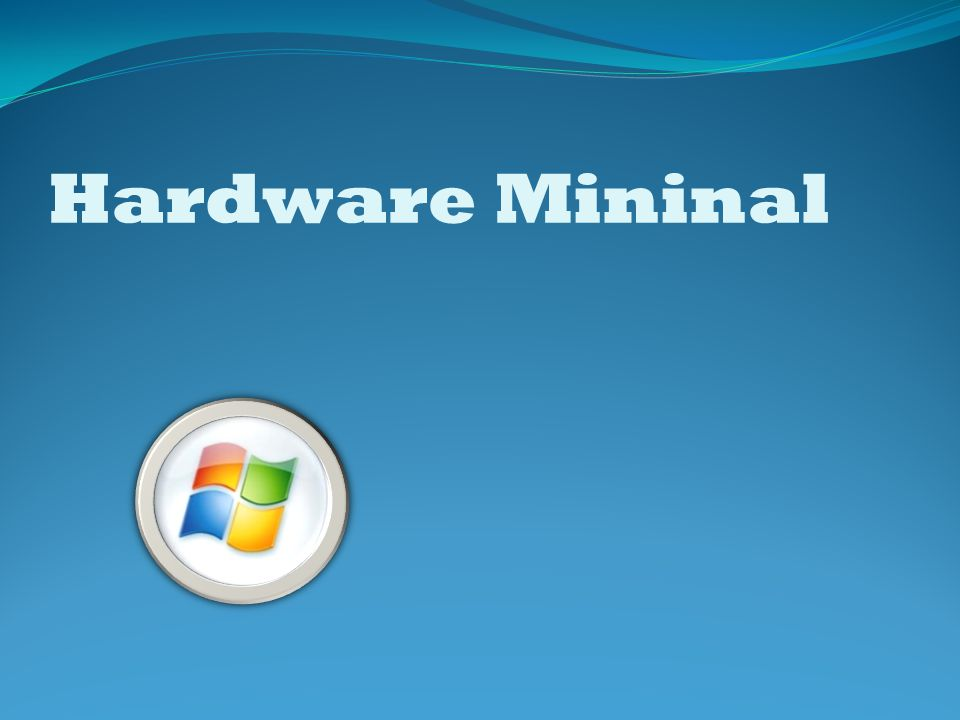 Hardware Mininal