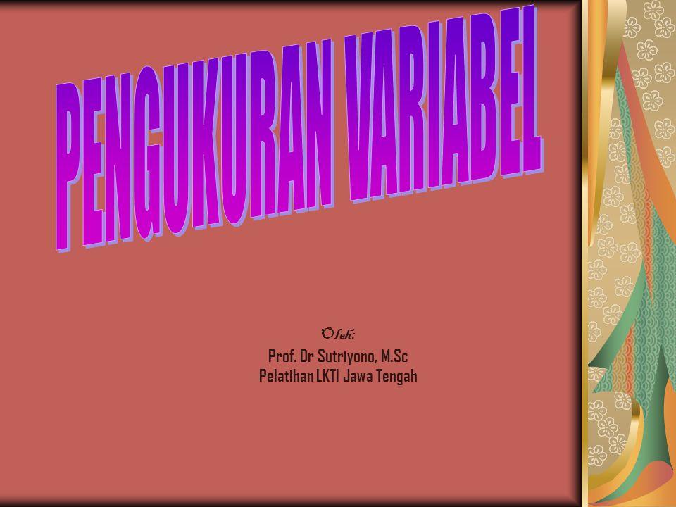 Pelatihan LKTI Jawa Tengah
