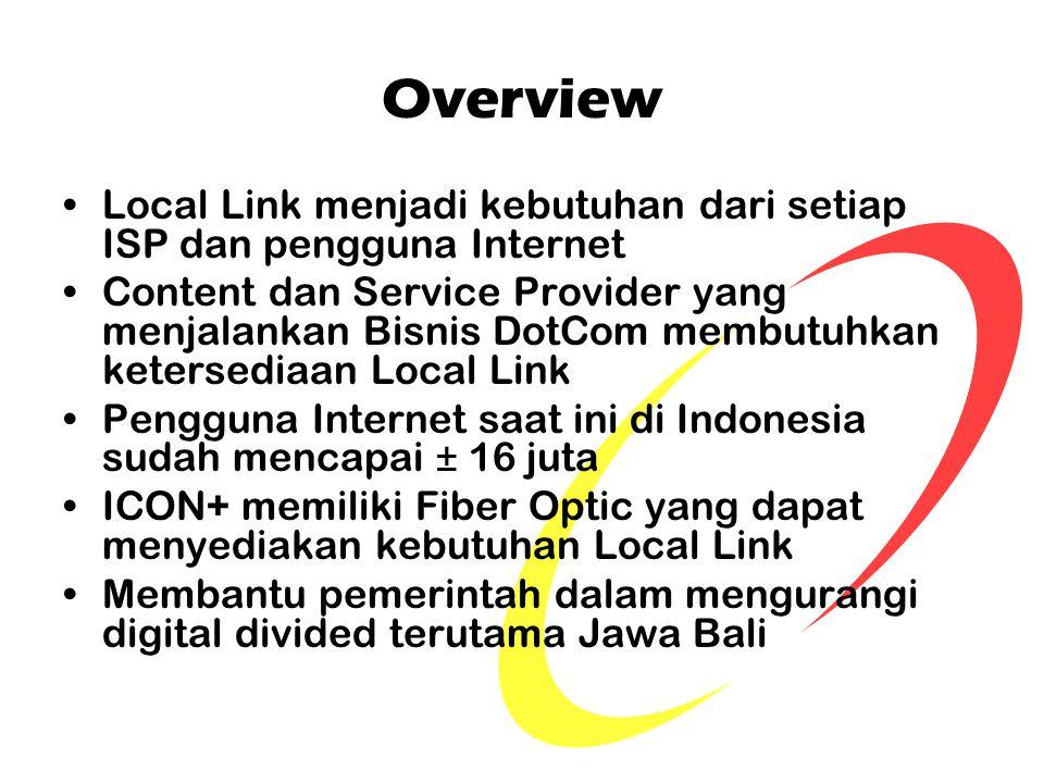 Overview Local Link menjadi kebutuhan dari setiap ISP dan pengguna Internet.
