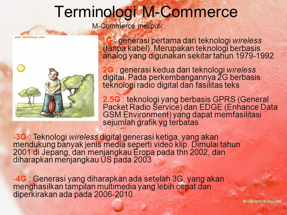Terminologi M-Commerce