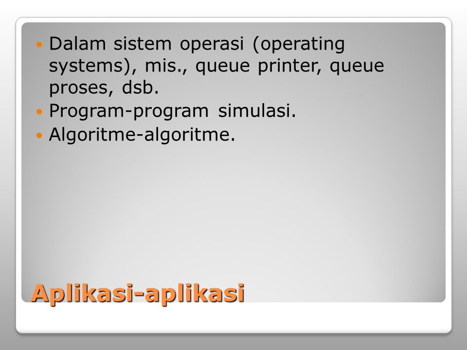 Dalam sistem operasi (operating systems), mis