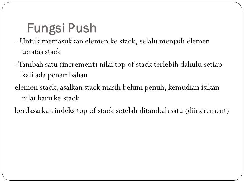 Fungsi Push