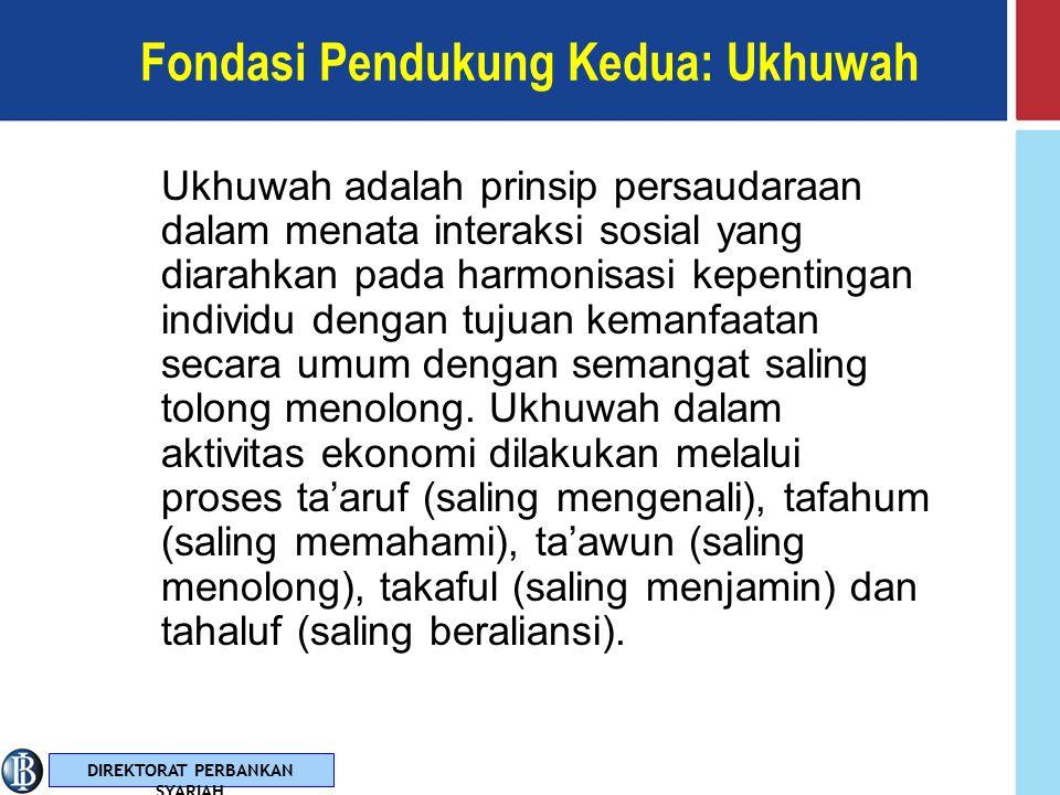 Fondasi Pendukung Kedua: Ukhuwah