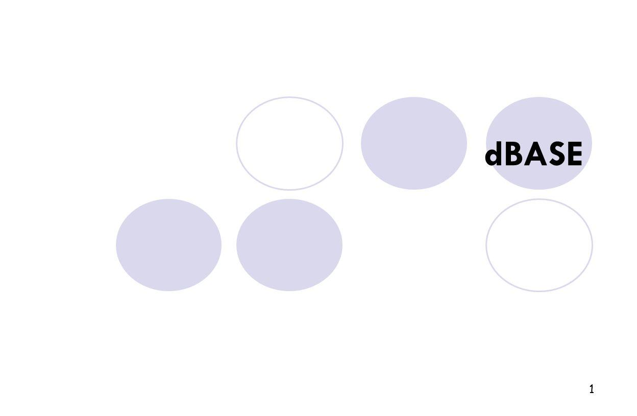 dBASE 1