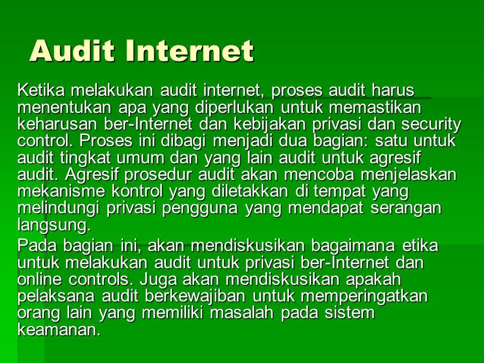 Audit Internet