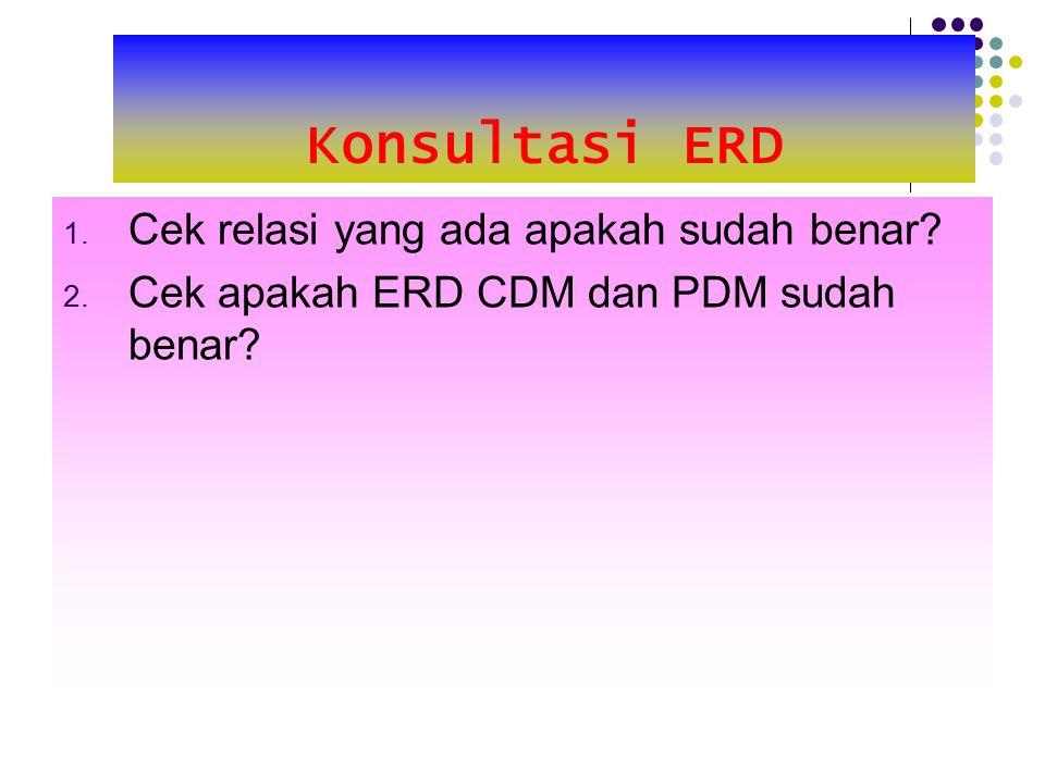 Konsultasi ERD Cek relasi yang ada apakah sudah benar