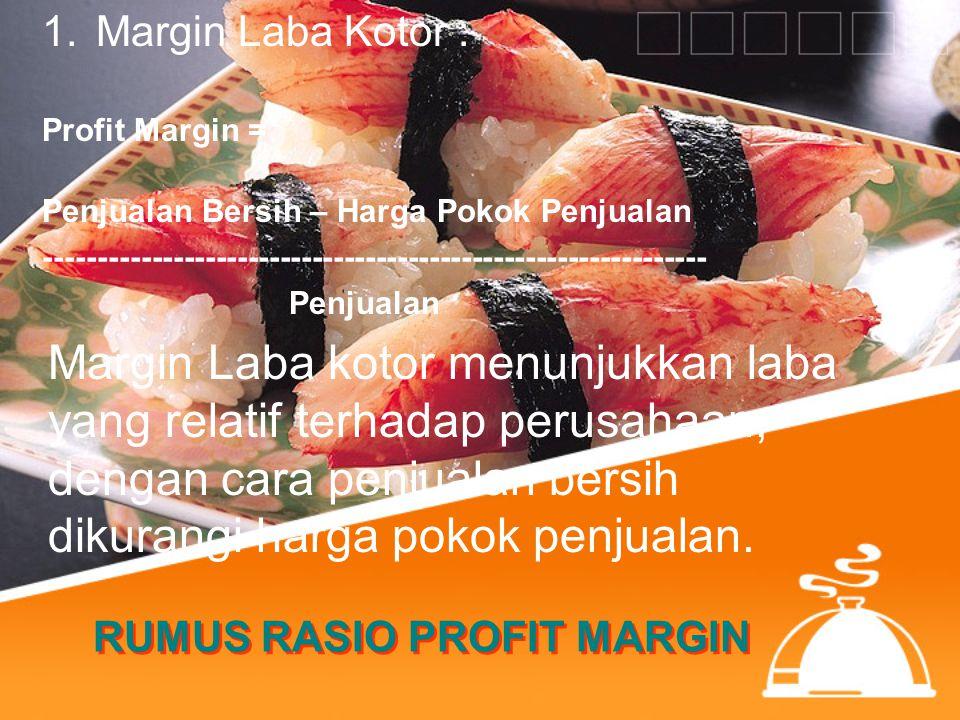RUMUS RASIO PROFIT MARGIN