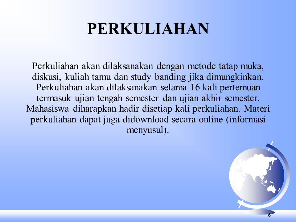 PERKULIAHAN