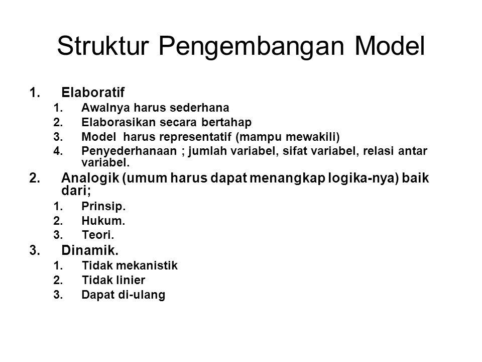 Struktur Pengembangan Model