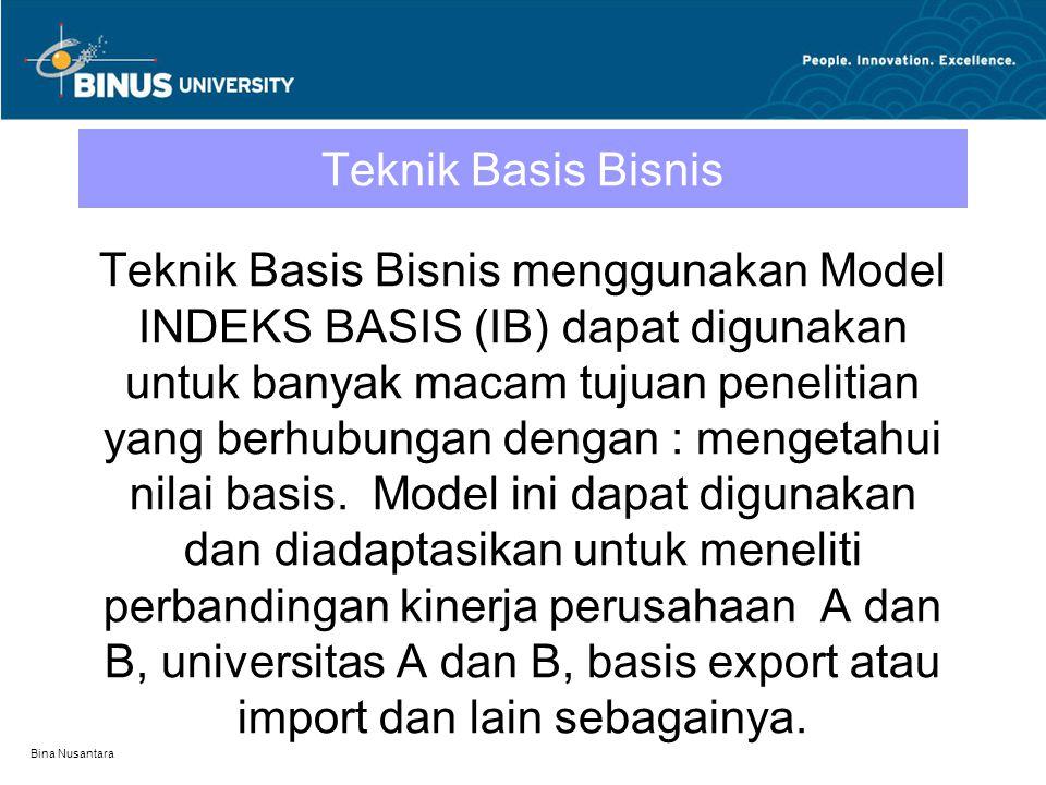 Teknik Basis Bisnis
