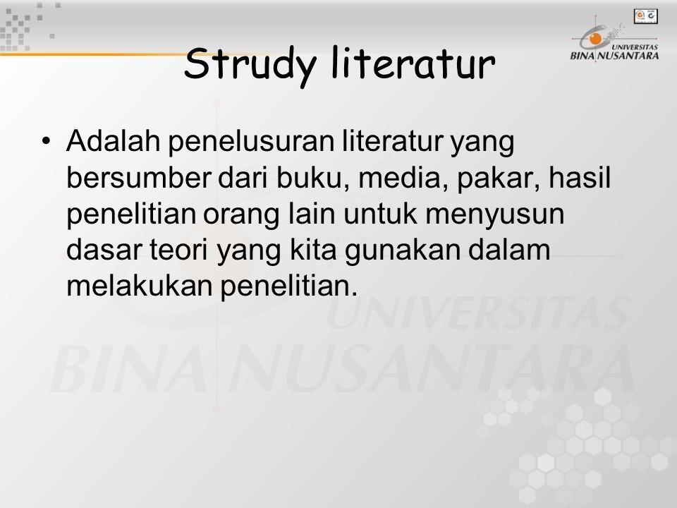 Strudy literatur
