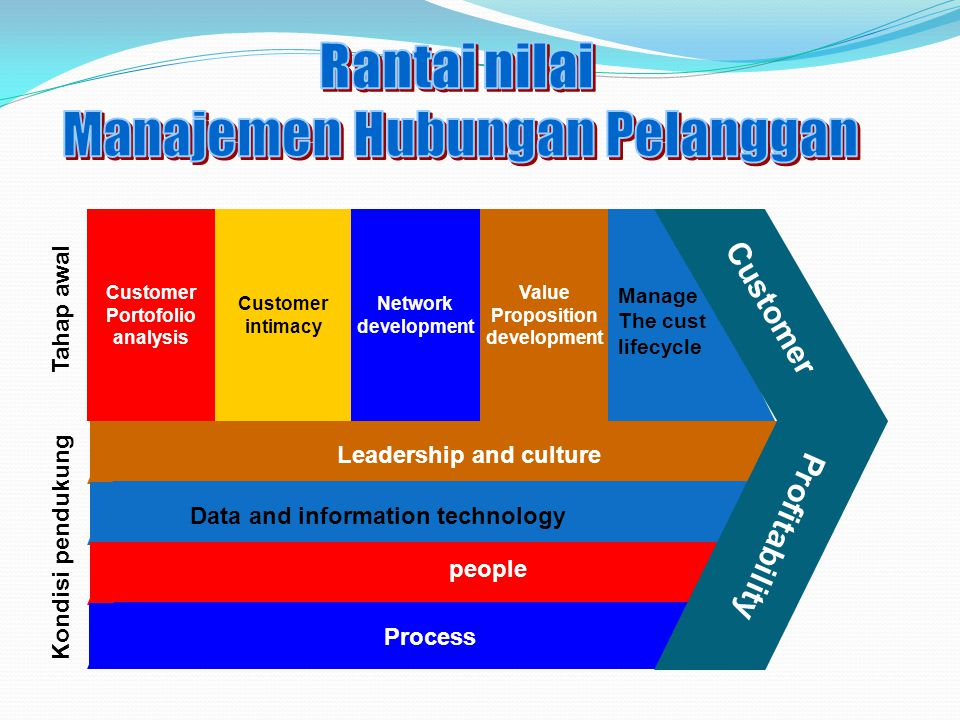 Leadership and culture Data and information technology