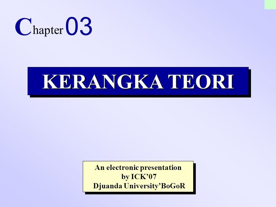An electronic presentation Djuanda University'BoGoR