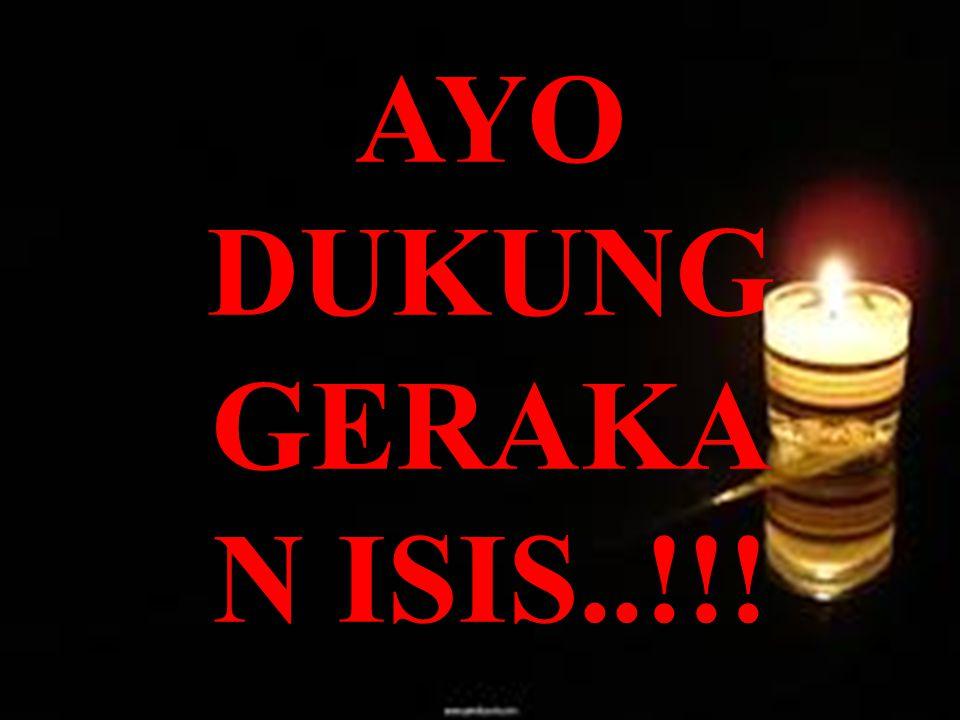 AYO DUKUNG GERAKAN ISIS..!!!