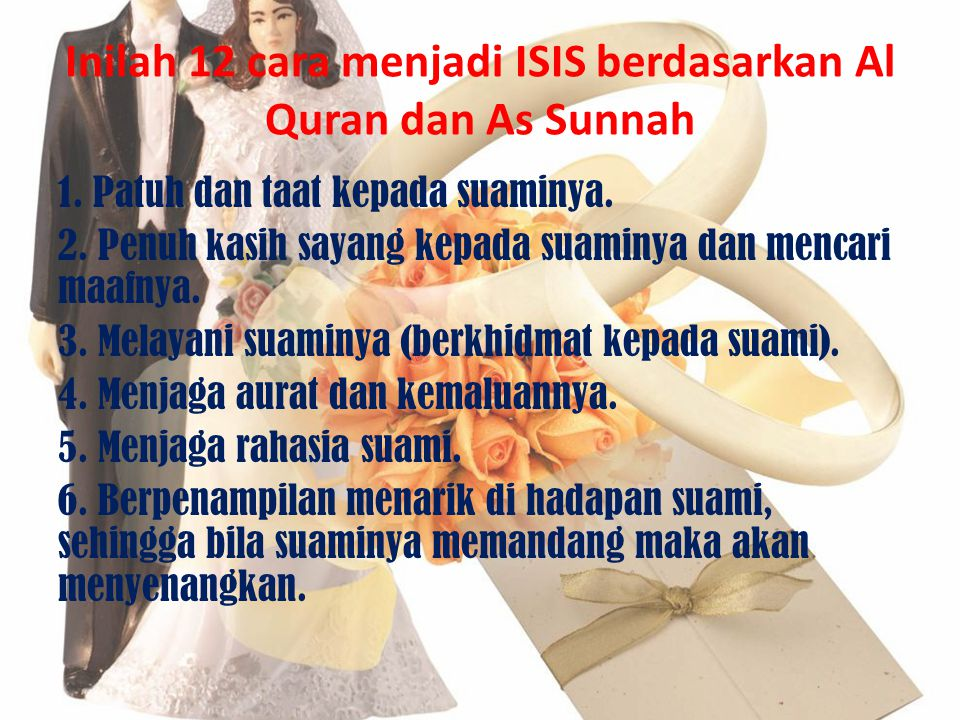Inilah 12 cara menjadi ISIS berdasarkan Al Quran dan As Sunnah
