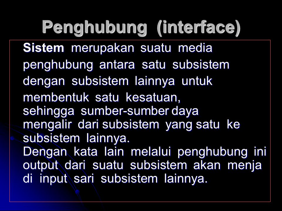 Penghubung (interface)