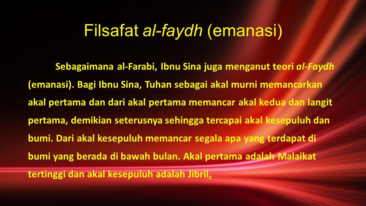 Filsafat al-faydh (emanasi)