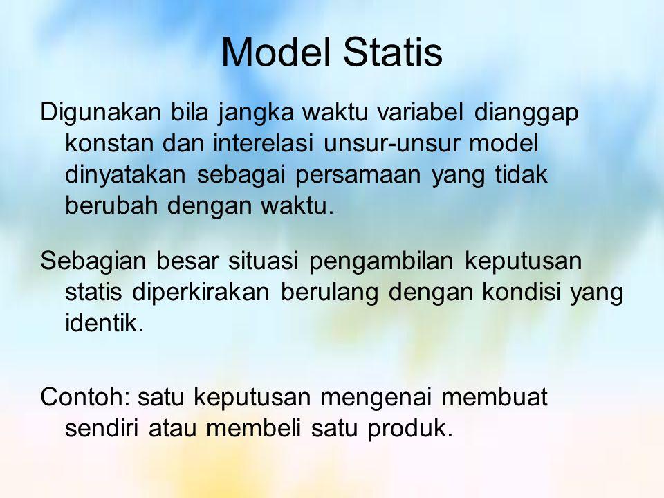 Model Statis