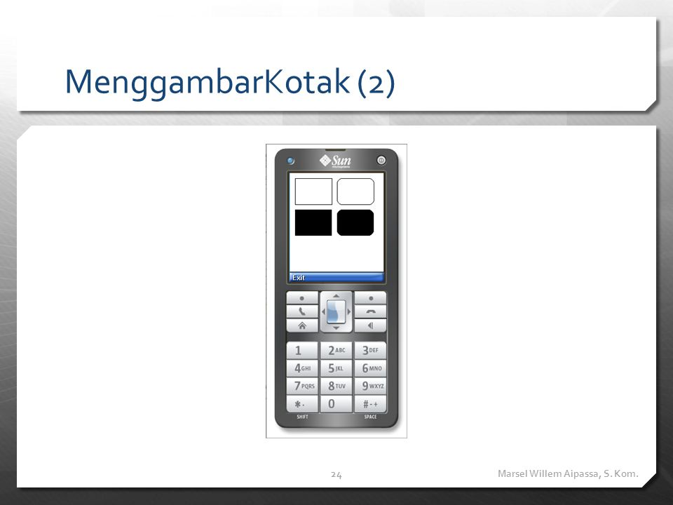 MenggambarSudut public void drawArc(int x, int y, int width, int height, int startAngle, int arcAngle)
