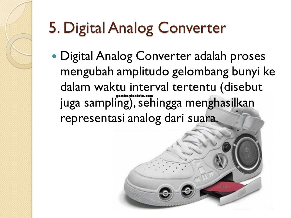 5. Digital Analog Converter