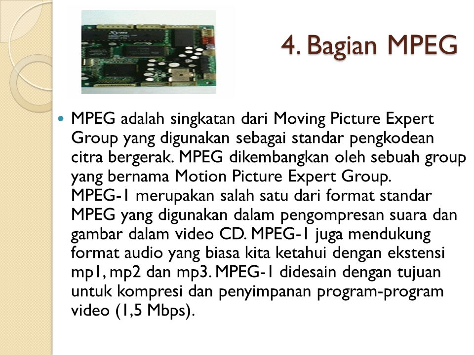 4. Bagian MPEG
