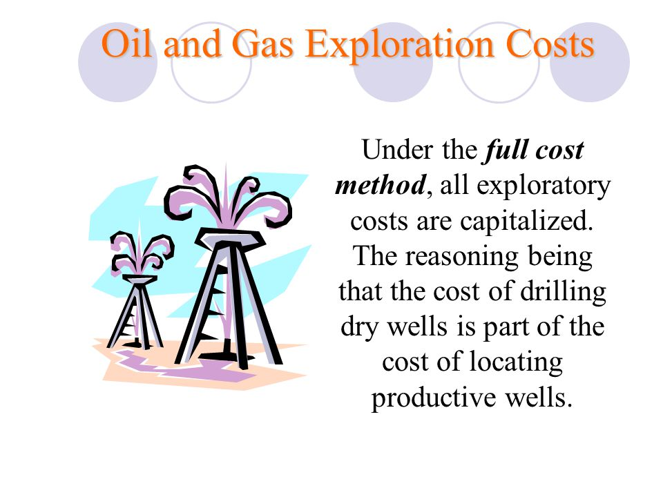 Oil and Gas Exploration Costs