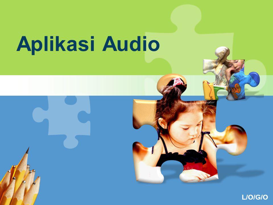 Aplikasi Audio