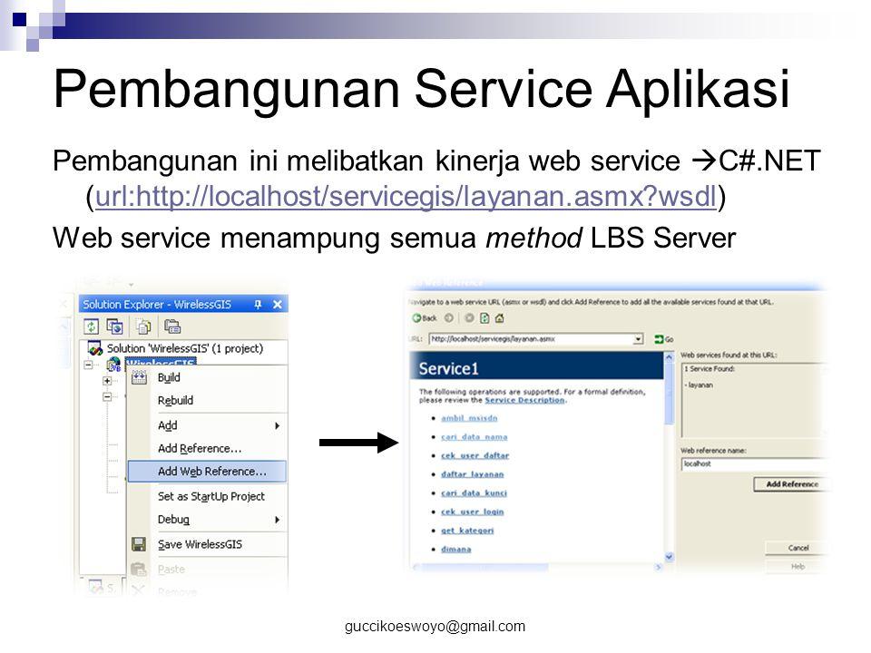 Pembangunan Service Aplikasi