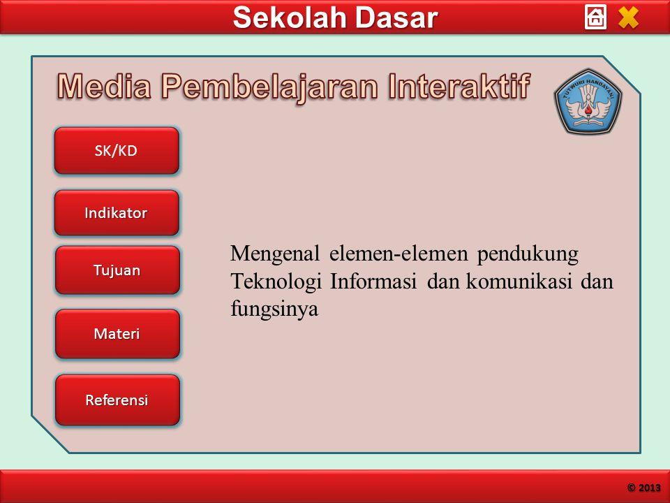 Mengenal elemen-elemen pendukung Teknologi Informasi dan komunikasi dan fungsinya