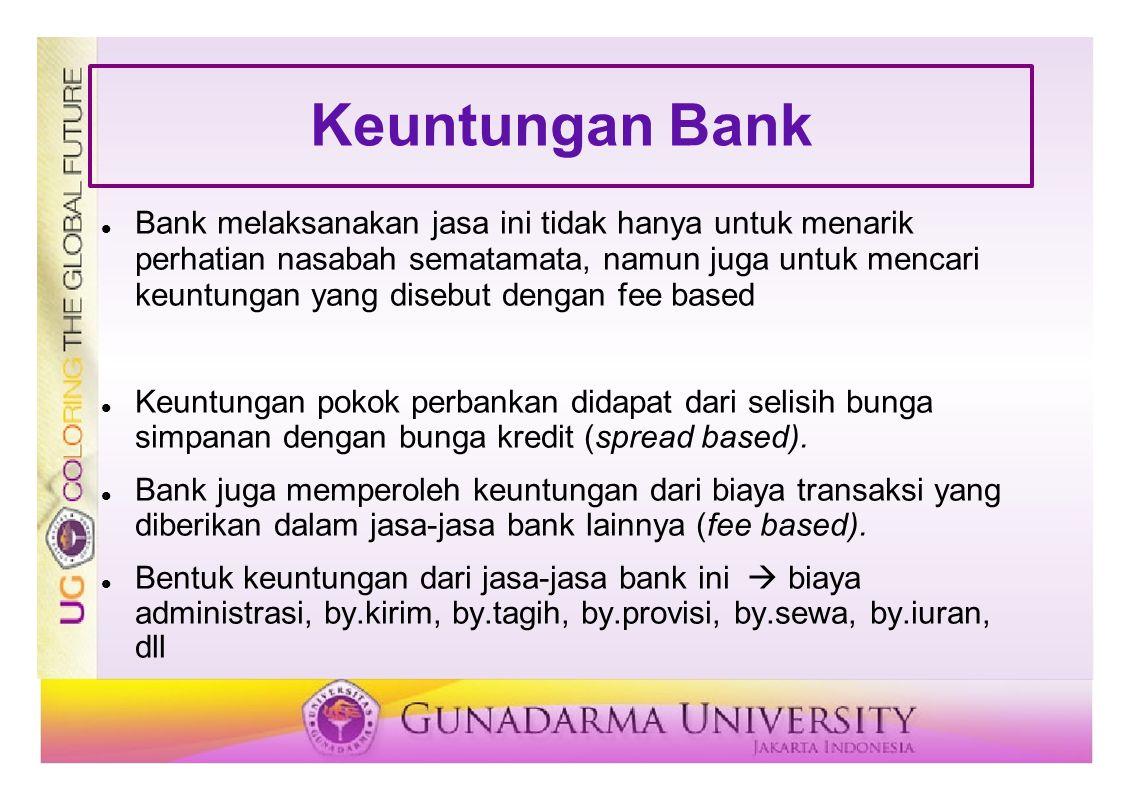 Keuntungan Bank