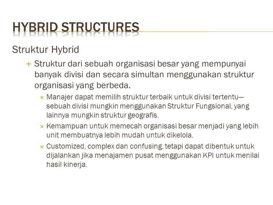 Hybrid Structures Struktur Hybrid