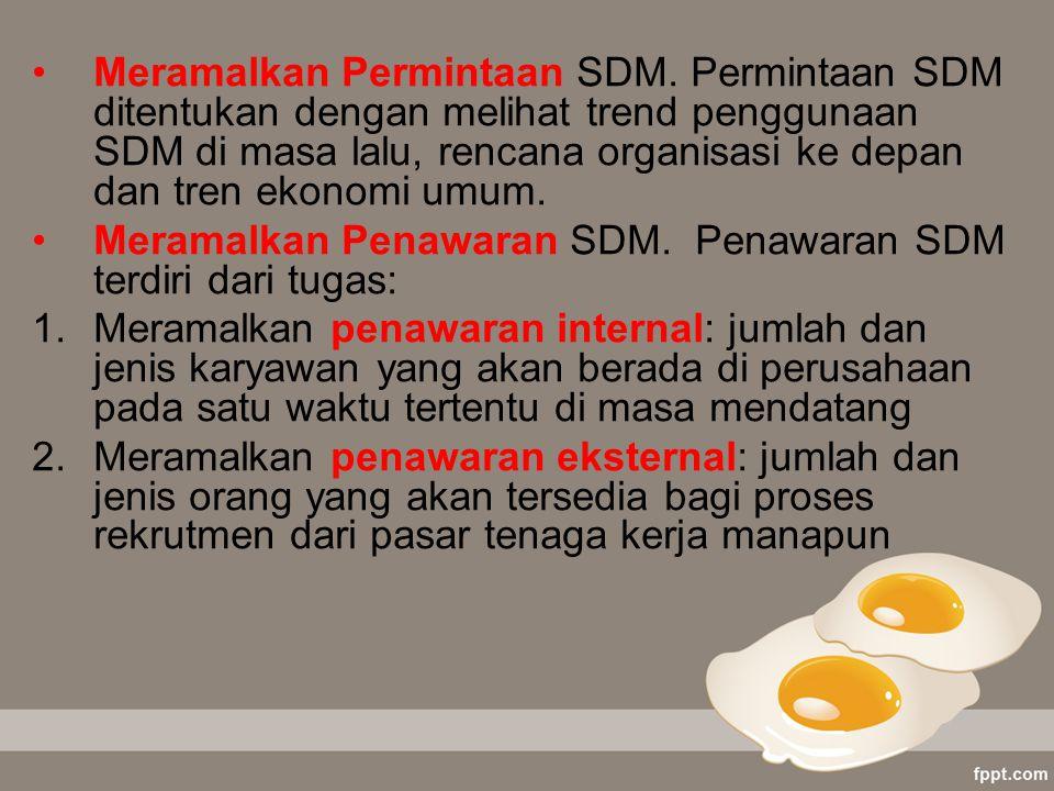 Meramalkan Permintaan SDM