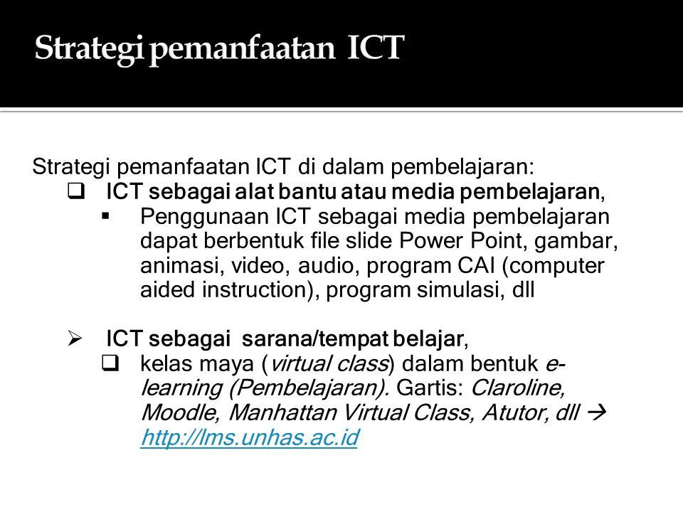 Strategi pemanfaatan ICT