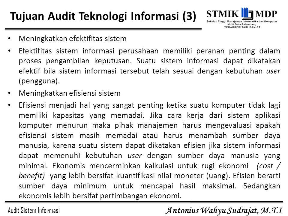 Tujuan Audit Teknologi Informasi (3)