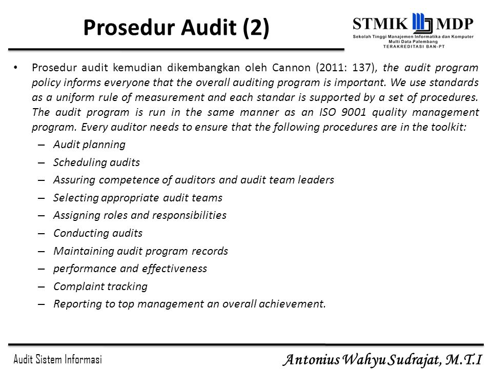 Prosedur Audit (2)