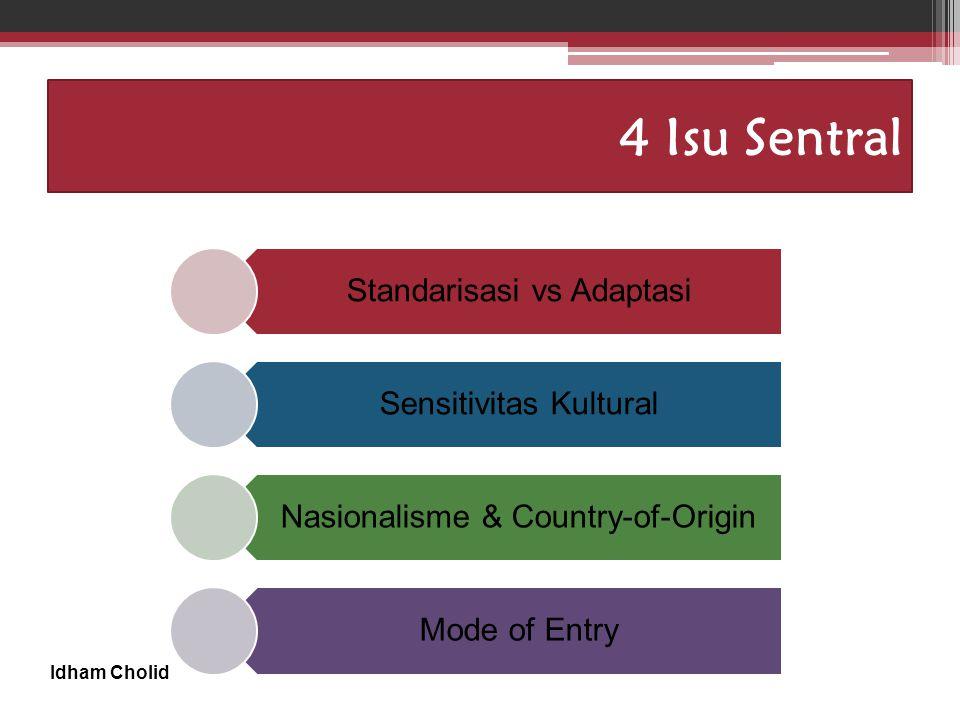 4 Isu Sentral Standarisasi vs Adaptasi Sensitivitas Kultural