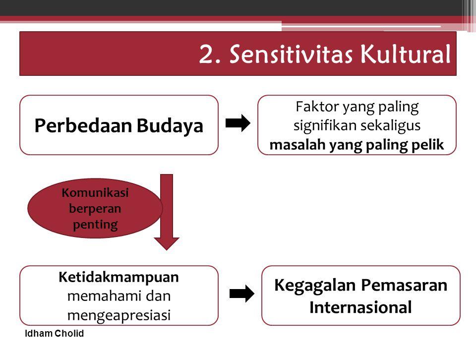 2. Sensitivitas Kultural